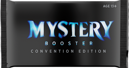Mystery Booster logo