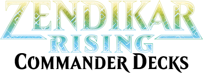 Zendikar Rising Commander Decks logo