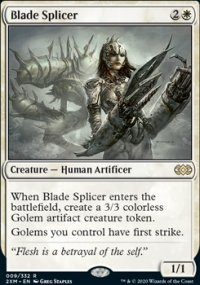 Blade Splicer - Double Masters