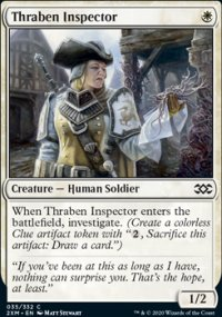 Thraben Inspector - Double Masters