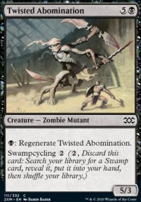Twisted Abomination - Double Masters