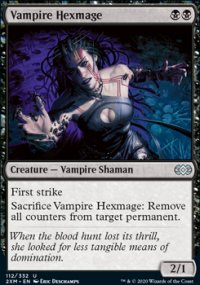 Vampire Hexmage - Double Masters