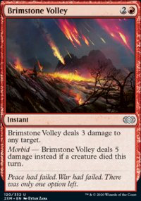 Brimstone Volley - Double Masters