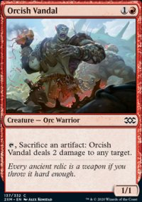 Orcish Vandal - Double Masters