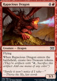 Rapacious Dragon - Double Masters