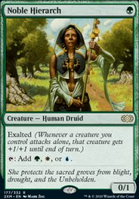 Noble Hierarch 1 - Double Masters