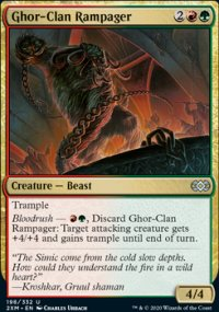 Ghor-Clan Rampager - Double Masters
