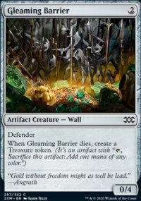 Gleaming Barrier - Double Masters