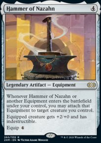 Hammer of Nazahn - Double Masters