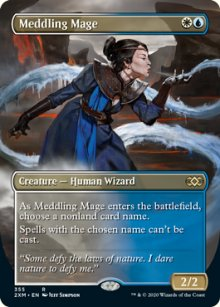 Meddling Mage - Double Masters