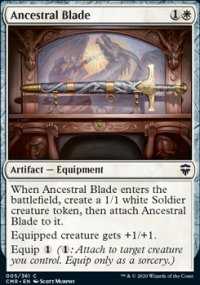 Ancestral Blade - Commander Legends