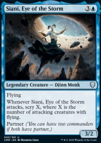 Siani, Eye of the Storm - Commander Legends