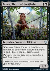 Miara, Thorn of the Glade 1 - Commander Legends