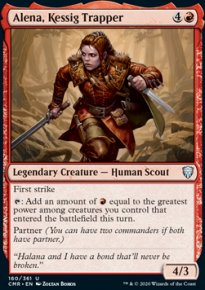 Alena, Kessig Trapper - Commander Legends