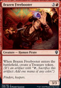 Brazen Freebooter - Commander Legends