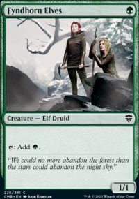 Fyndhorn Elves - Commander Legends