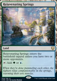 Rejuvenating Springs - Commander Legends