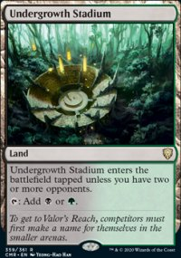 Undergrowth Stadium - Commander Legends