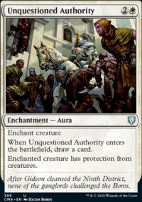 Unquestioned Authority - Commander Legends