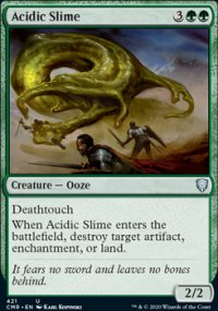 Acidic Slime - Commander Legends