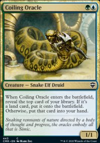 Coiling Oracle 1 - Commander Legends