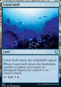 Coral Atoll - Commander Legends