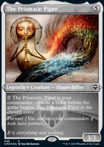 The Prismatic Piper - Commander Legends