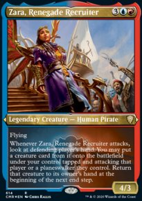 [Zara, Renegade Recruiter] - Commander Legends