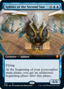 Sphinx of the Second Sun - Commander Legends