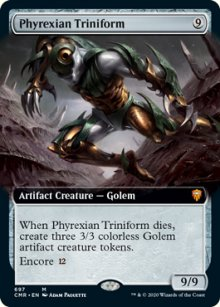 Phyrexian Triniform - Commander Legends