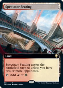 Spectator Seating - Commander Legends