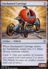 Enchanted Carriage - Throne of Eldraine