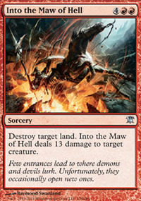 Into the Maw of Hell - Innistrad