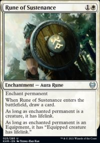 Rune of Sustenance - Kaldheim