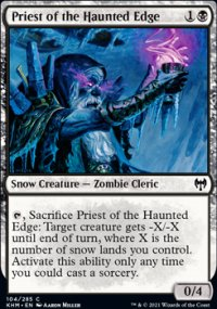 Priest of the Haunted Edge - Kaldheim