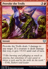 Provoke the Trolls - Kaldheim