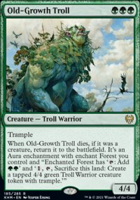 Old-Growth Troll 1 - Kaldheim