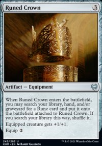 Runed Crown - Kaldheim
