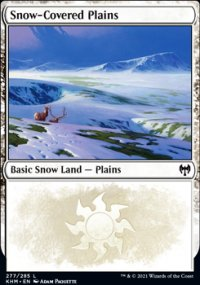 Snow-Covered Plains 2 - Kaldheim
