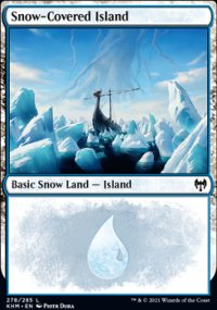 Snow-Covered Island 1 - Kaldheim