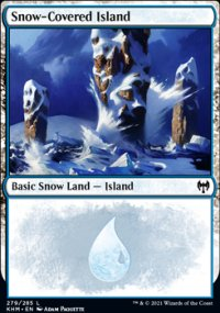 Snow-Covered Island 2 - Kaldheim