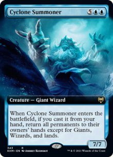 Cyclone Summoner 2 - Kaldheim