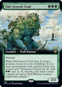 Old-Growth Troll 2 - Kaldheim