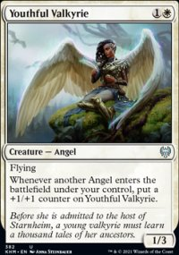 Youthful Valkyrie - Kaldheim