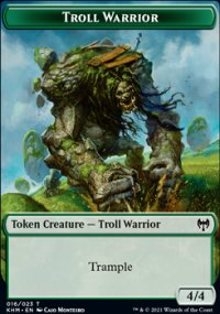 Troll Warrior - Kaldheim