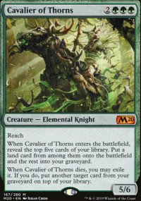 Cavalier of Thorns - Core Set 2020