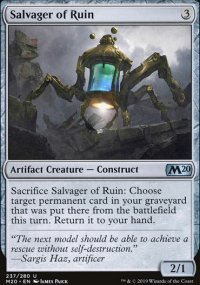 Salvager of Ruin - Core Set 2020