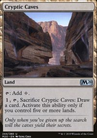 Cryptic Caves - Core Set 2020