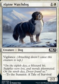 Alpine Watchdog - Core Set 2021