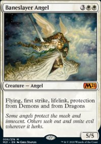 Baneslayer Angel 1 - Core Set 2021
